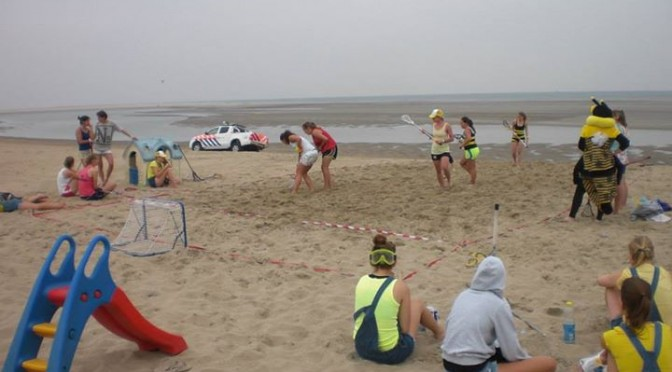 Beachlax en borrel